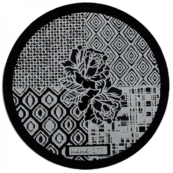 Stamping Schablone HeHe-077