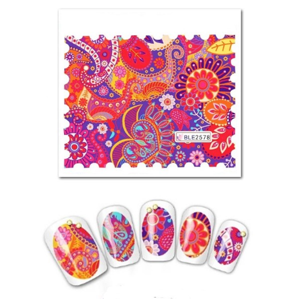 Nailart Tattoo Blume Nr. 50
