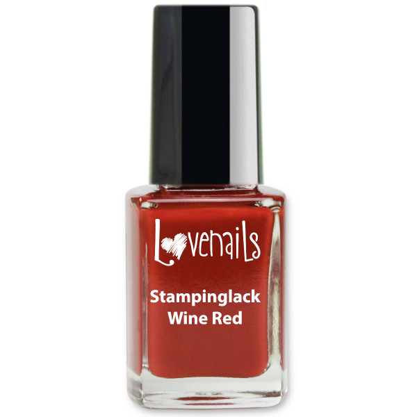 Stamping Lack Wine Red 12ml