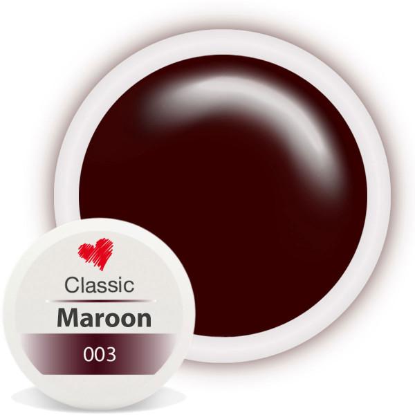 Classic Farbgel 003 Maroon 5ml