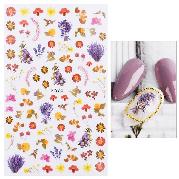 Frühling Nail Sticker für Nageldesign