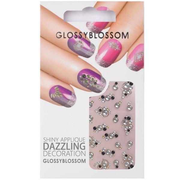 Glossy Blossom Nail Sticker 19