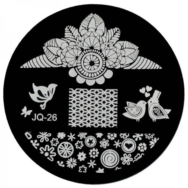 Stamping Schablone JQ-26