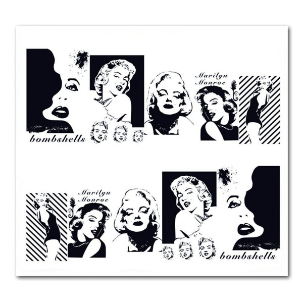 Nailart Tattoo Marilyn Monroe 20