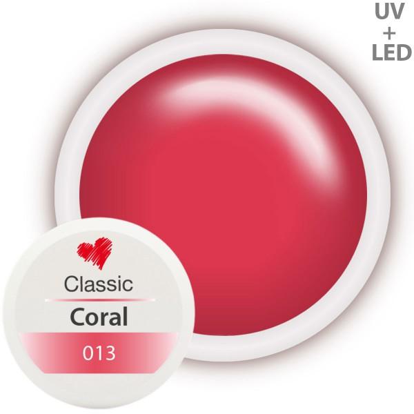 Classic Farbgel 013 Coral 5ml