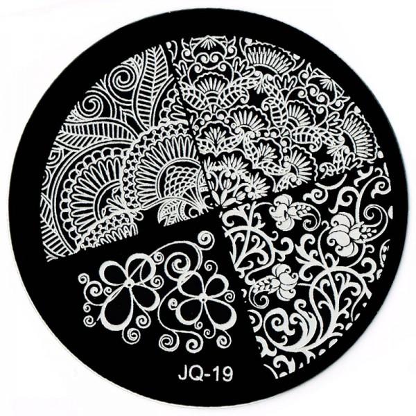 Stamping Schablone JQ-19