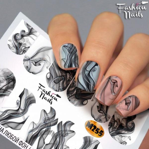 Metallic Nail Slider 255 Rauch Smoky nails