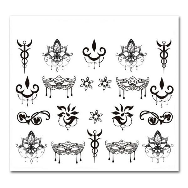 Nailart Tattoo Mystery 1