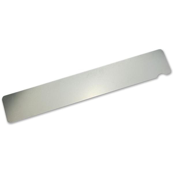 Edelstahlboard Rechteck 0,6mm