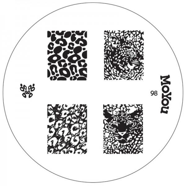 MoYou Nails Schablone 98 | Lovenails-Shop