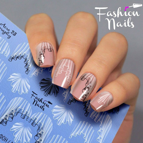 Airbrush Nail Slider 23