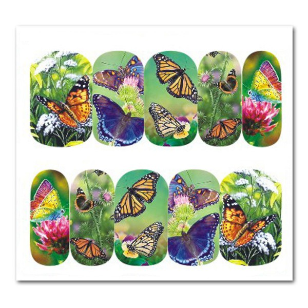 Nailart Tattoo Schmetterling Nr. 16