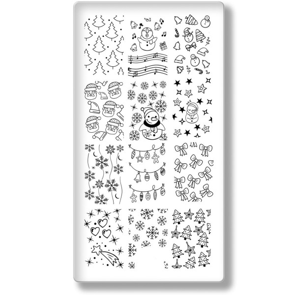 Stamping Schablone Xmas 23