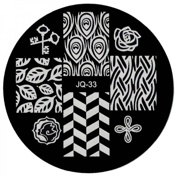 Stamping Schablone JQ-33
