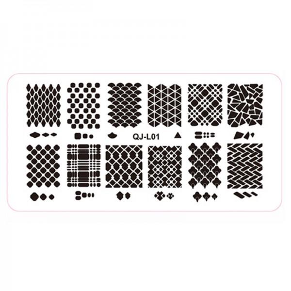 Stamping Schablone QJ-L01