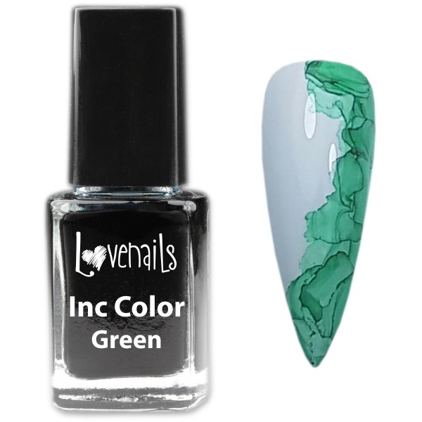 Inc Color Nailart Grün12ml
