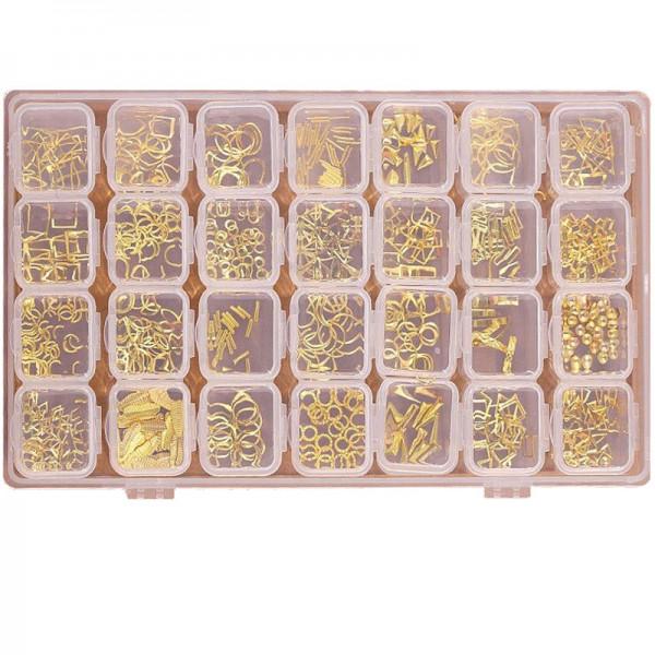 XXL Rahmen Einleger Box gold