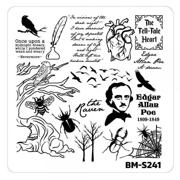 Stamping Schablone BM-S241