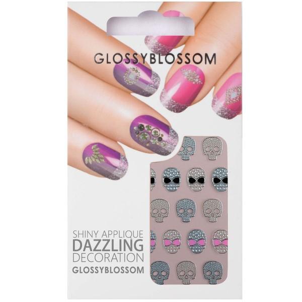 Glossy Blossom Nail Sticker 1