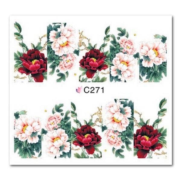 Nailart Tattoo Blume Nr. 21