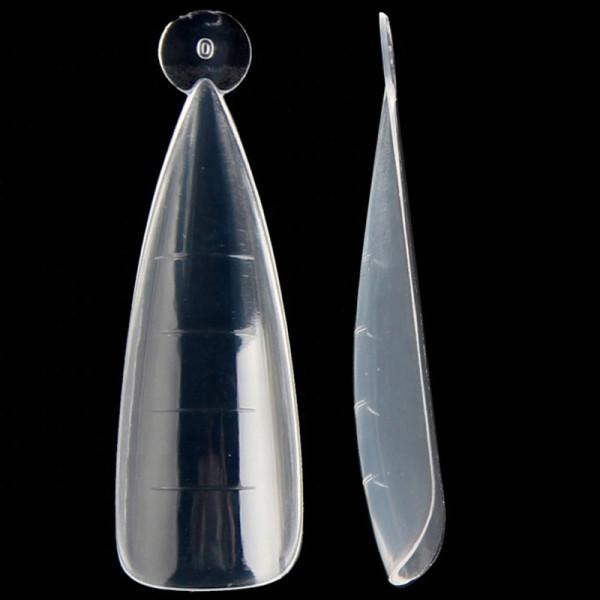 120 Dual Tips Stiletto Popit Nailart