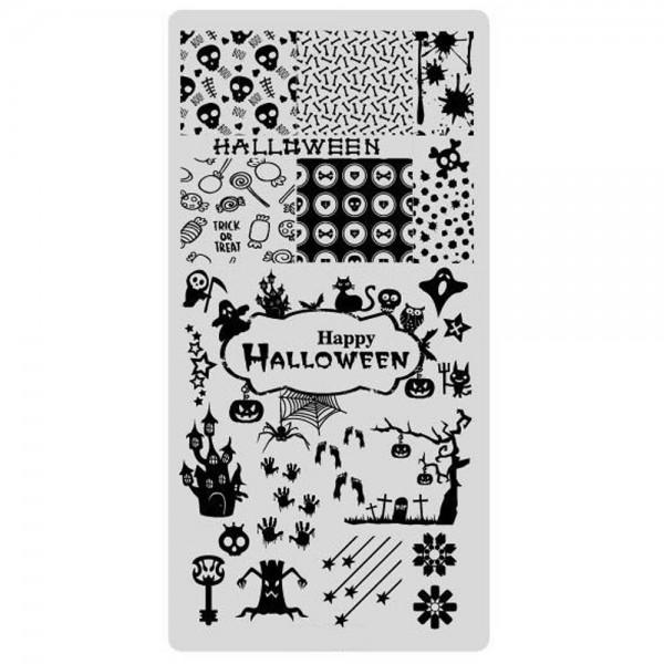 Stamping Schablone Halloween 6