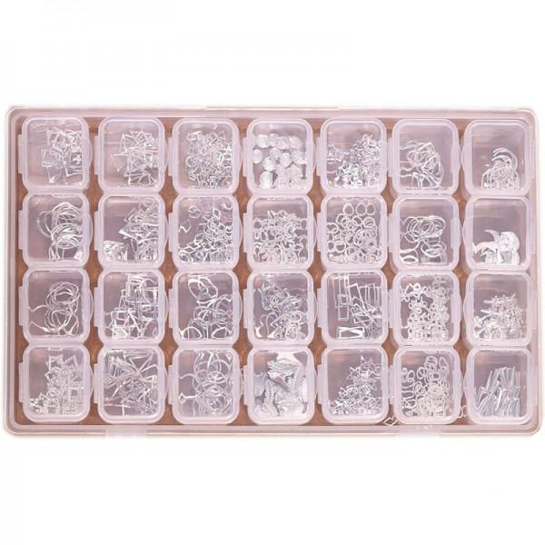 XXL Rahmen Einleger Box Silber