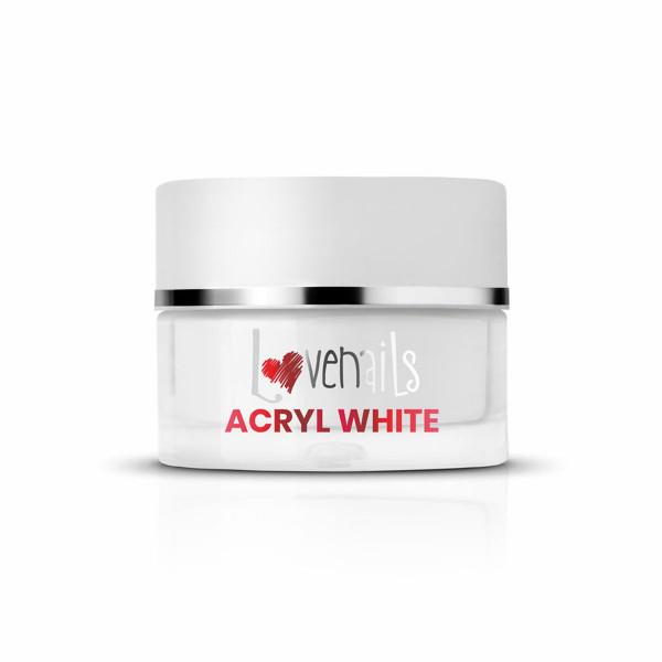 Acryl Puder White 36g für Nagelmodellage