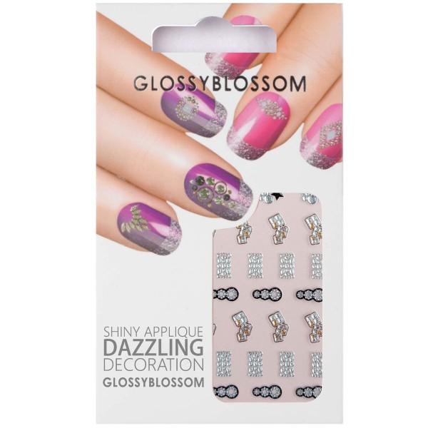 Glossy Blossom Nail Sticker 12