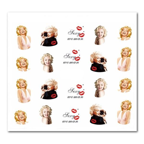 Nailart Tattoo Marilyn Monroe 19