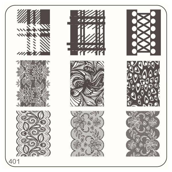 MoYou Nails Schablone Casual Style 401 | Lovenails-Shop
