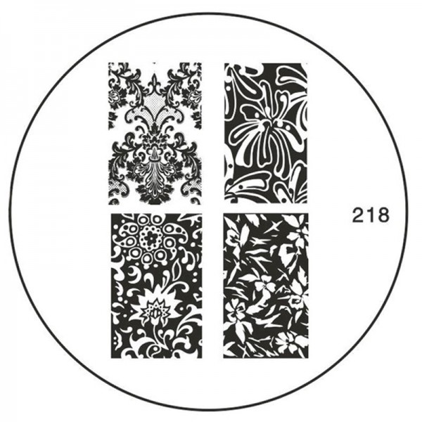 MoYou Nails Schablone 218