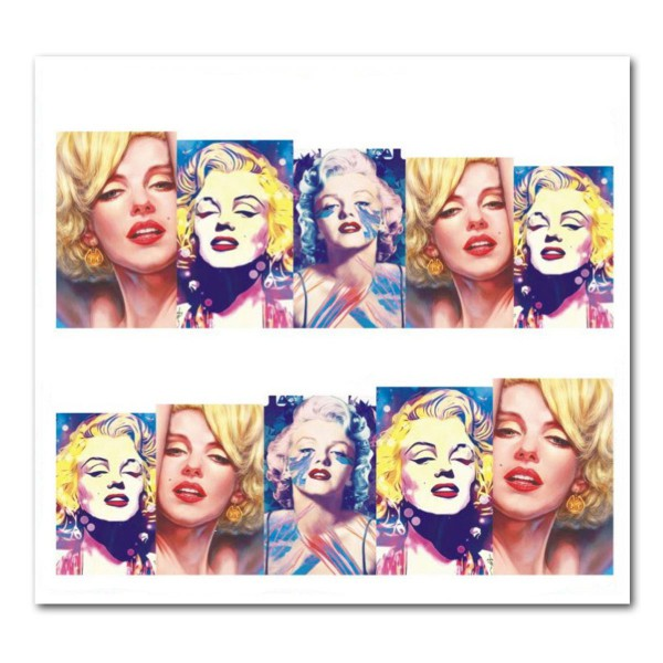 Nailart Tattoo Marilyn Monroe 14