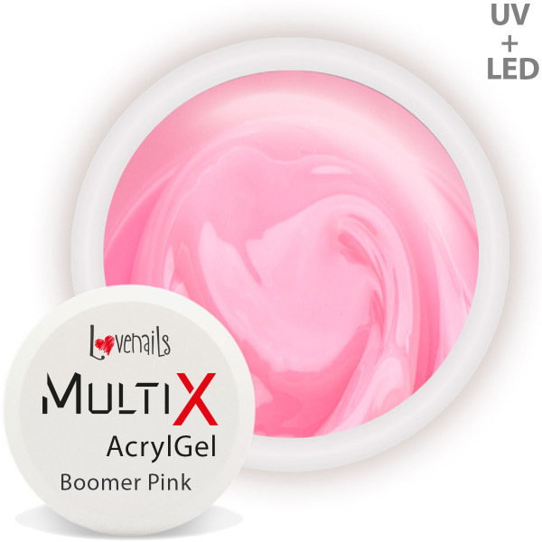 Multi-X AcrylGel Boomer Pink Modellage