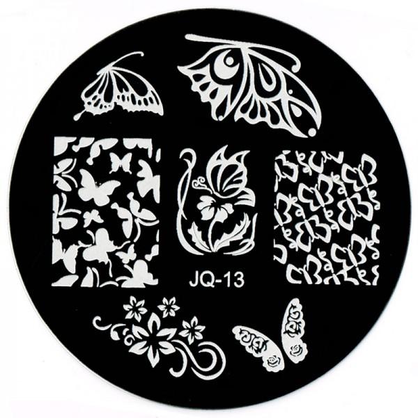 Stamping Schablone JQ-13