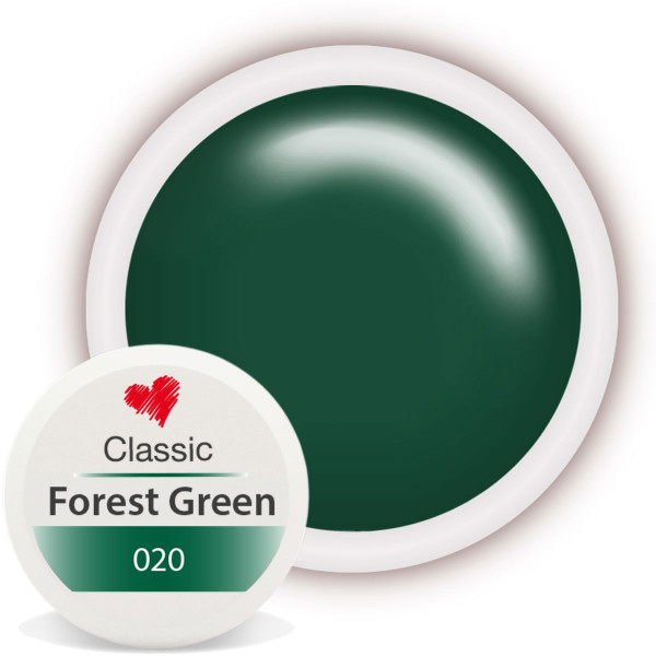 Classic Farbgel 020 Forest Green 5ml