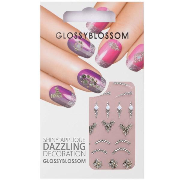 Glossy Blossom Nail Sticker 17