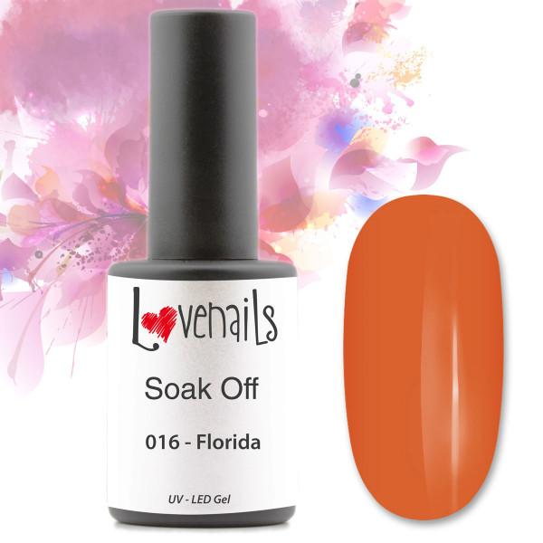 Soak Off Farbgel 016 Florida Orange