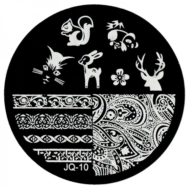Stamping Schablone JQ-10