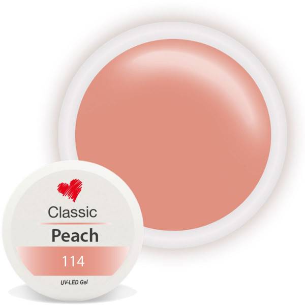 Classic Farbgel Peach nailart gel modellage