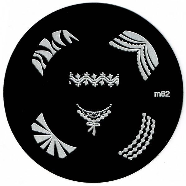 Stamping-Schablone m62
