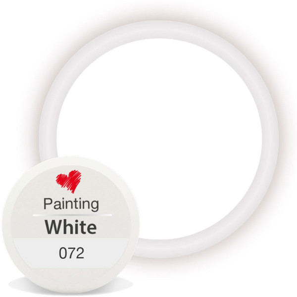 Painting Gel 072 White 5ml