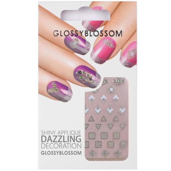 Glossy Blossom Nail Sticker 23