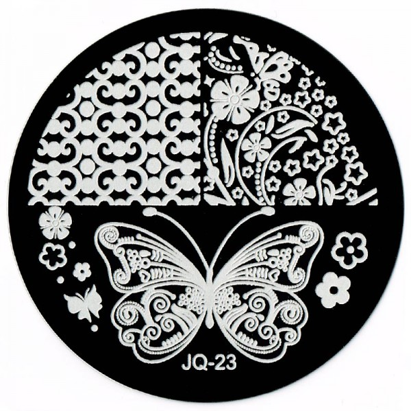 Stamping Schablone JQ-23