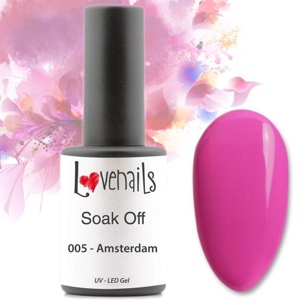 Soak Off Farbgel Pink Amsterdam 10ml