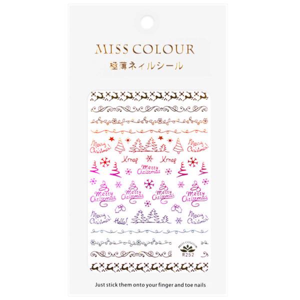 Xmas Nail Sticker Weihnachten Nailart