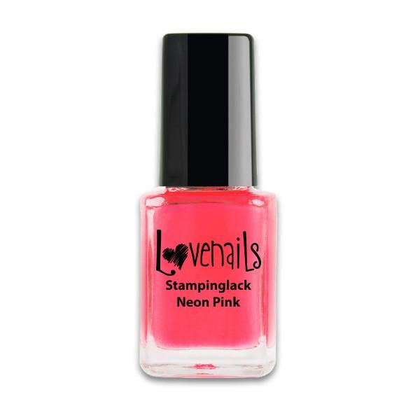 Lovenails Stamping Lack Neon Pink 12ml