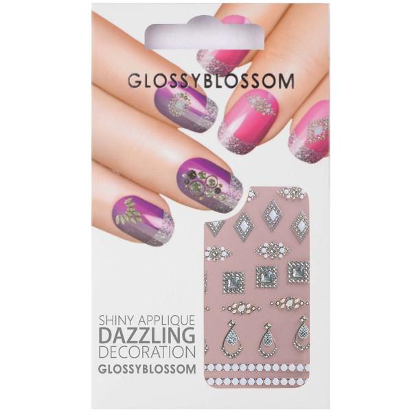 Glossy Blossom Nail Sticker 16