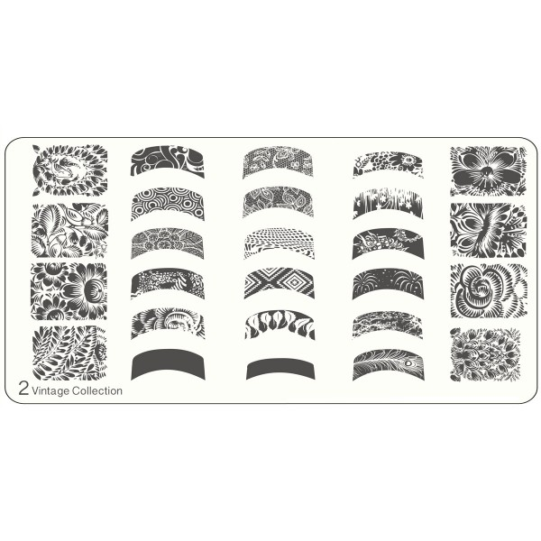 MoYou Nails Schablone Vintage 2