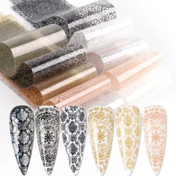 Transferfolien Vintage Nails Nailart